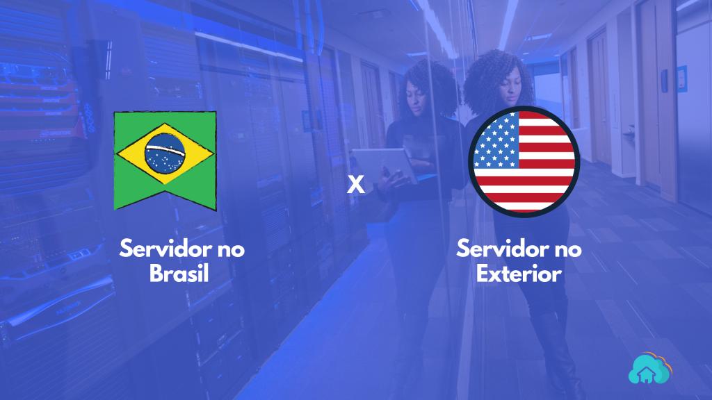 Diferença entre hospedagem de sites: Brasil x Exterior